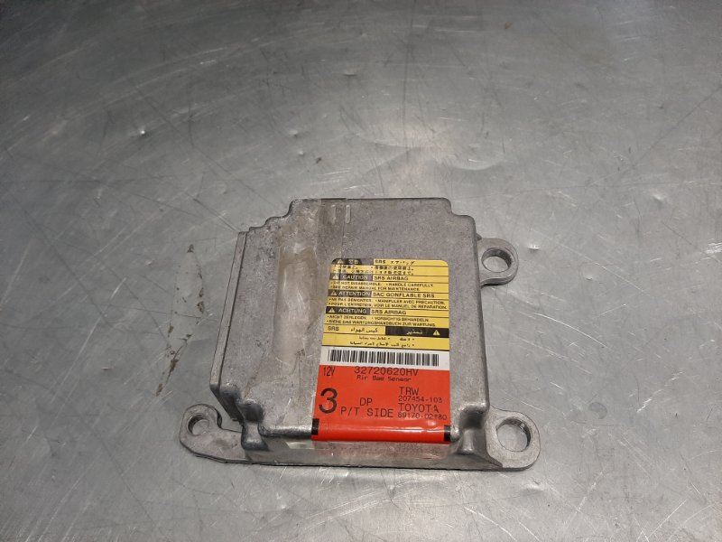 Блок управления airbag Toyota Corolla 9 ZZE120 3ZZ-FE 2003