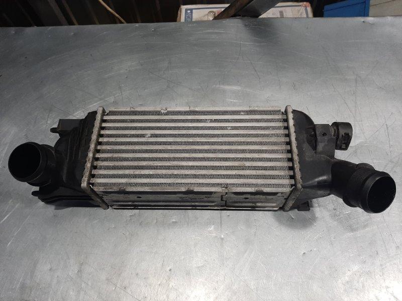 Радиатор интеркулера (интеркулер) Peugeot 407 6D DW10BTED4 2005