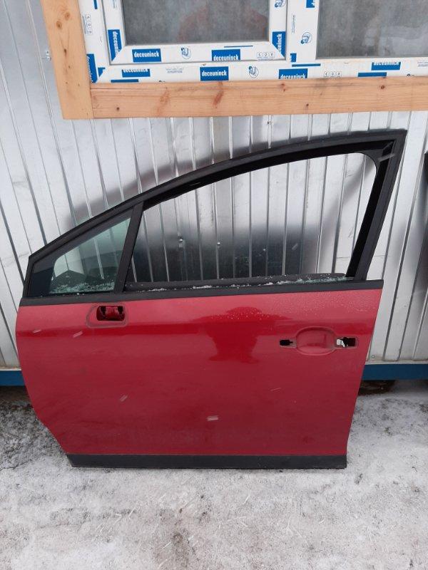Дверь Citroen C4 LC DV6ATED4 2007 передняя левая