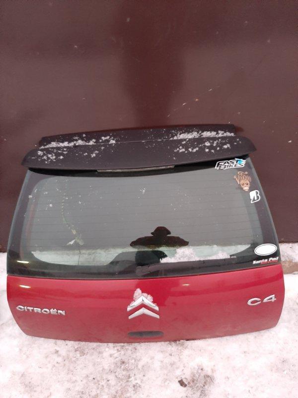 Крышка багажника Citroen C4 LC DV6ATED4 2007