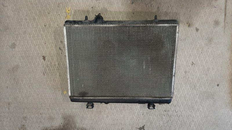 Радиатор охлаждения Peugeot 407 SW DV6TED4 2008