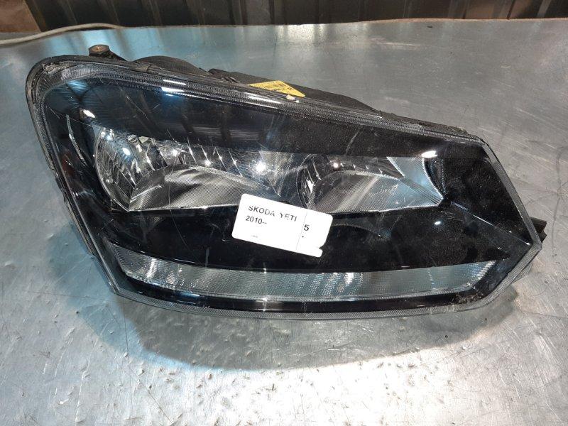 Фара Skoda Yeti 5L6 BXE 2010 передняя правая