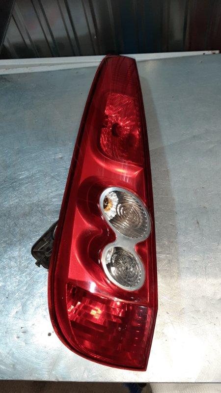 Фонарь задний Ford Fiesta 5 CB1 FXJA 2005 задний левый