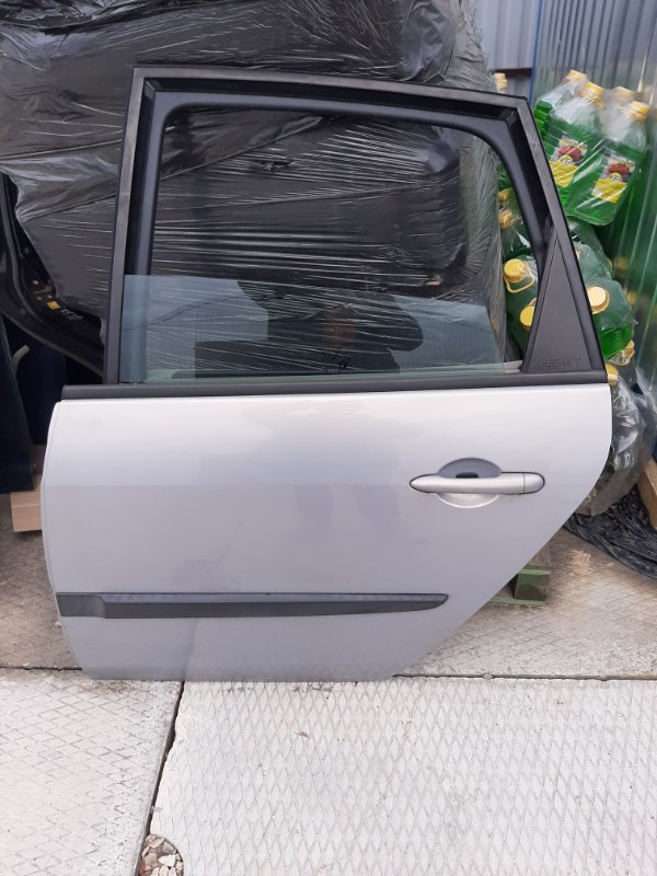 Дверь Renault Scenic 2 JM0 F9Q812 2003 задняя левая