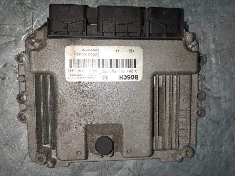 Блок управления двигателем Renault Scenic 2 JM0 F9Q812 2003