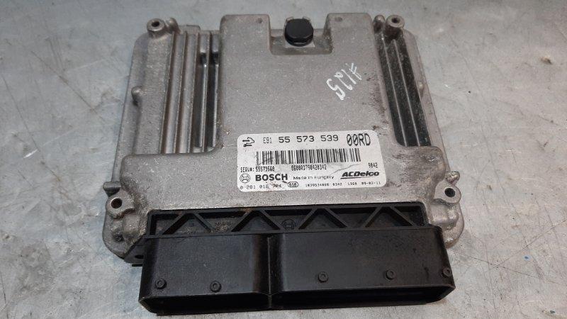 Блок управления двигателем Opel Insignia A A16LET 2008