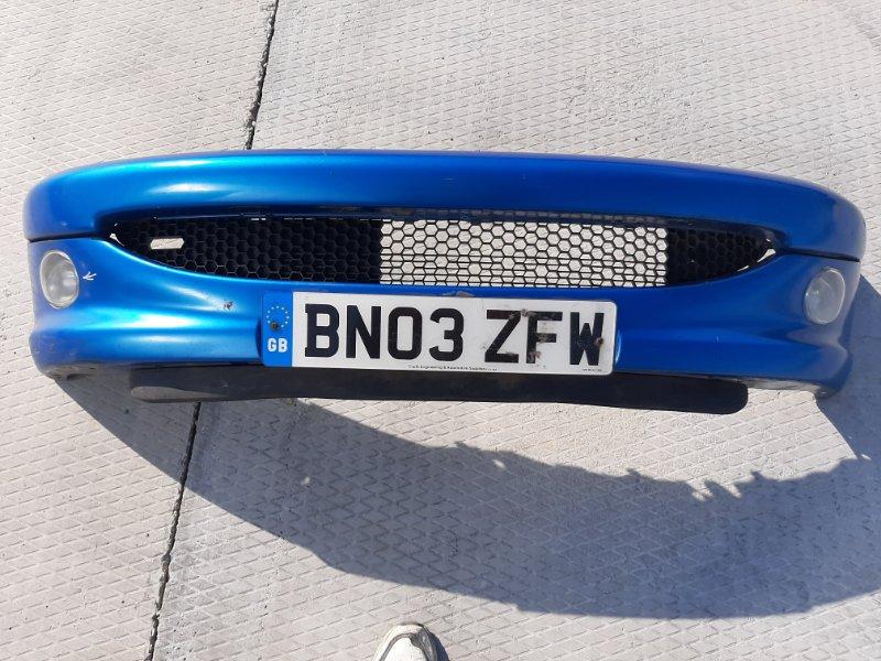 Бампер. Peugeot 206 2A/C TU3JP 2008 передний