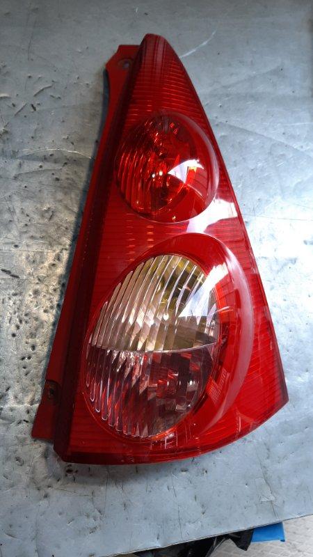 Фонарь задний Peugeot 107 1KRFE 2005 задний правый