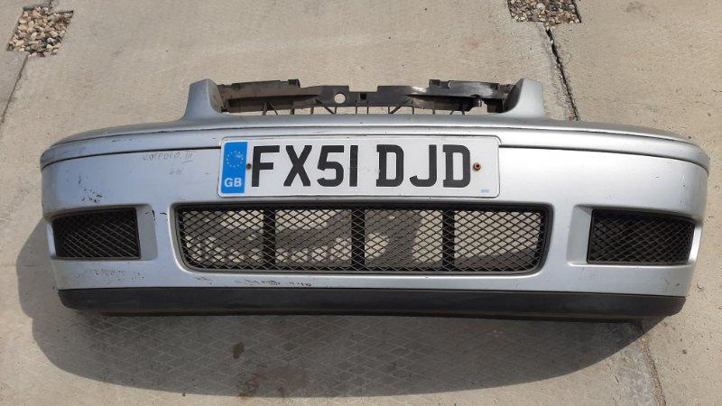 Бампер. Volkswagen Polo 3 6N2 AAM 1999 передний