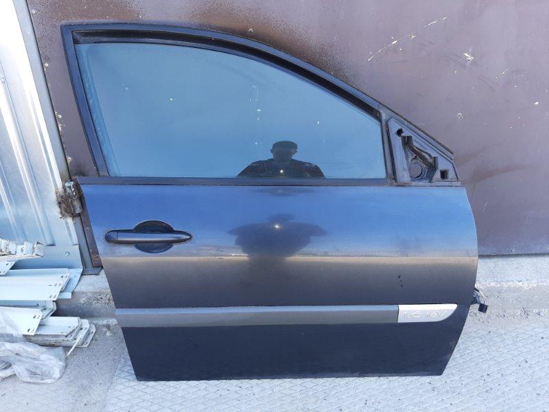 Дверь Renault Megane 2 LM0/1 K4M812 2006 передняя правая