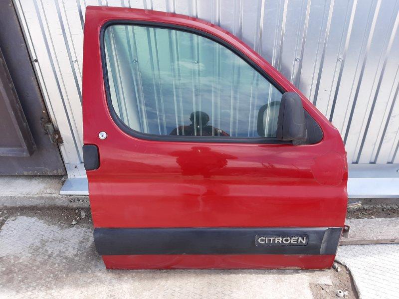 Дверь Citroen Berlingo M59 DV6ATED4 2007 передняя правая