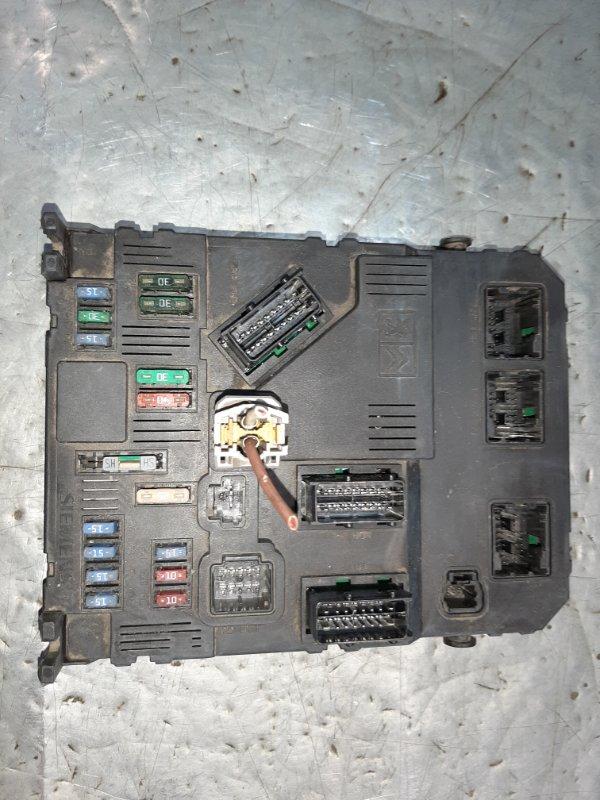 Блок предохранителей Citroen Berlingo M59 DV6ATED4 2007