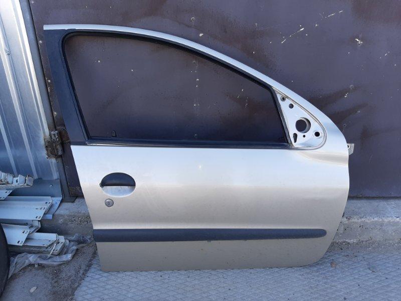 Дверь Peugeot 206 2B TU3JP 2008 передняя правая
