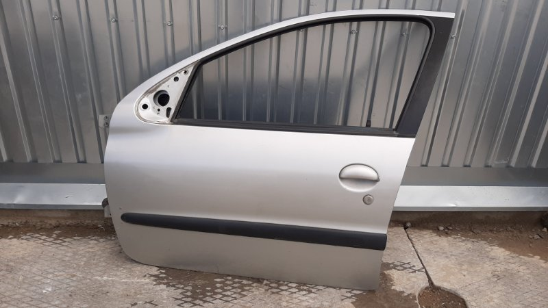 Дверь Peugeot 206 2A/C TU3JP 2003 передняя левая