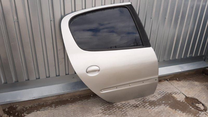 Дверь Peugeot 206 2A/C TU3JP 2003 задняя правая