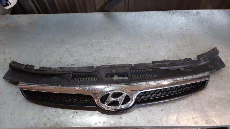 Решетка радиатора Hyundai I30 FD G4FA 2008