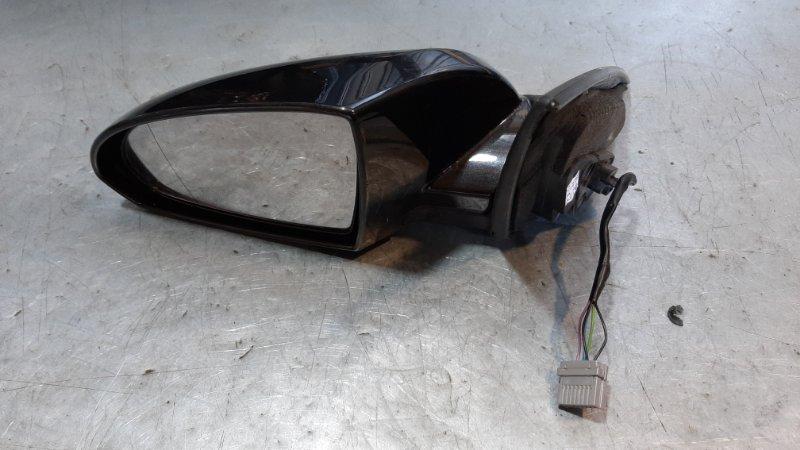 Зеркало. Nissan Primera 3 P12 QG18DE 2004 передний левый
