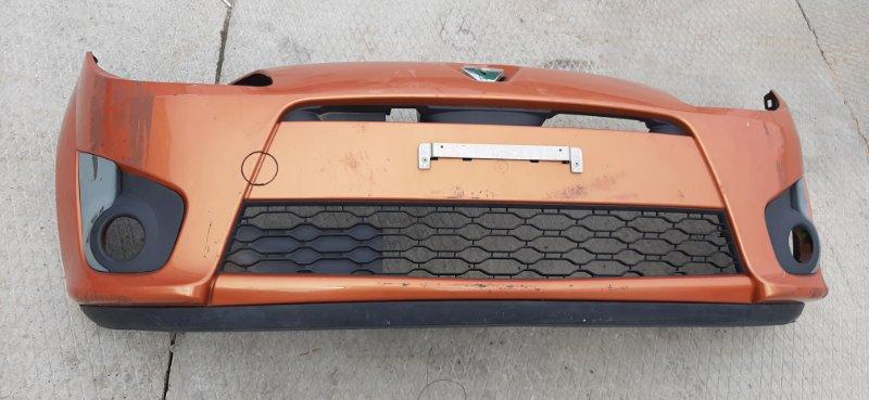 Бампер. Renault Twingo CN0A D4F772 2007 передний