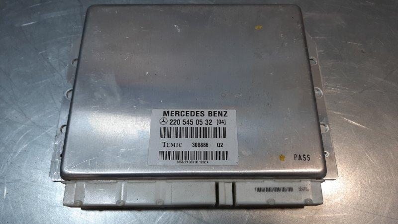 Блок управления пневмоподвеской Mercedes-Benz S-Class W220 M112E32 1998
