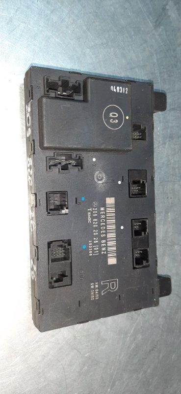 Блок управления Mercedes-Benz C-Class W202 M111E20ML 2000 передний правый