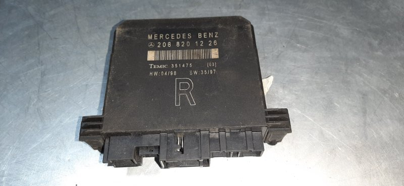 Блок управления дверьми Mercedes-Benz C-Class W202 M111E23ML 2000 передний правый