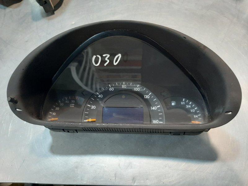 Панель приборов Mercedes-Benz C-Class W203 M111E23EVOML 2001