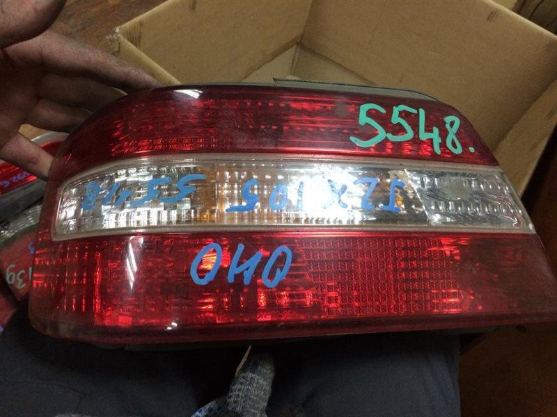 Стоп Toyota Chaser JZX100 1JZ-GE 1996 задний левый № оптики 22-254