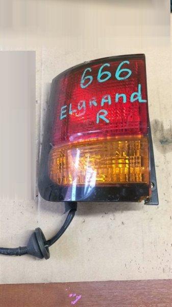 Стоп Nissan Elgrand ALWE50 VG33E задний левый № оптики 4791A