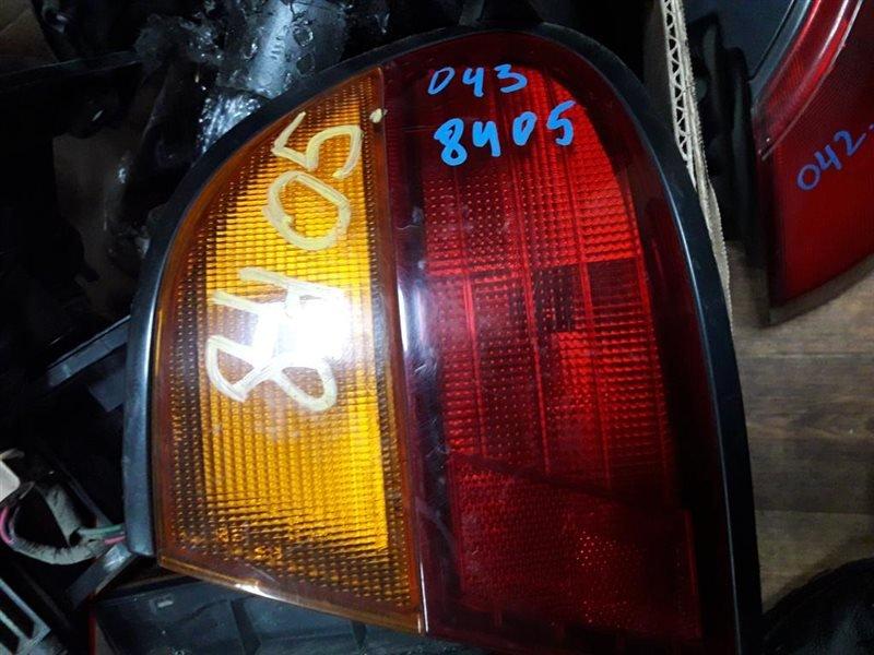 Стоп Nissan Pulsar FN15 GA15DE задний правый № оптики 7378 4726A