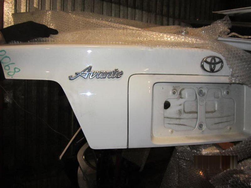 Крышка багажника Toyota Chaser GX100 1G-FE 1998 задняя