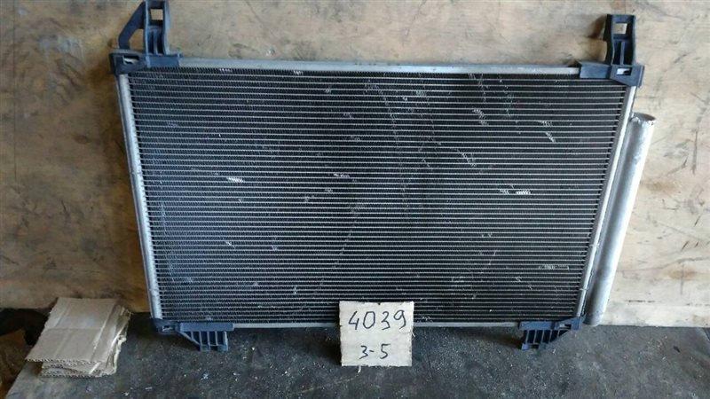Радиатор кондиционера Toyota Belta KSP92 1KR-FE 2005