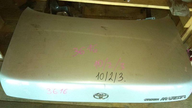 Крышка багажника Toyota Crown Majesta JZS149 2JZ-GE задняя