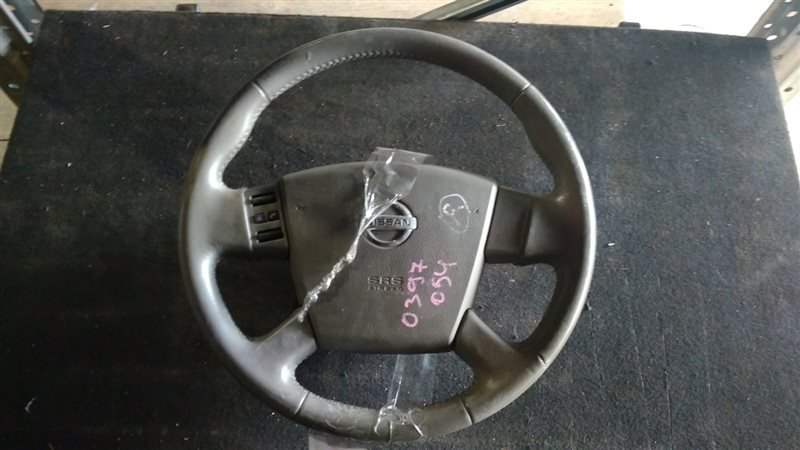 Airbag на руль Nissan Presage TU31 QR25DE 2004 0397