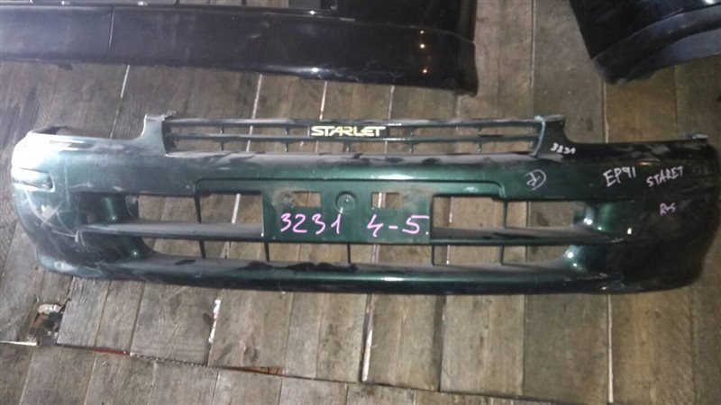 Бампер Toyota Starlet EP91 1997 передний