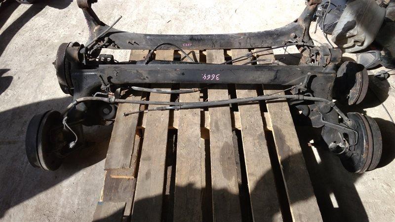 Балка подвески Toyota Nadia SXN10H задняя