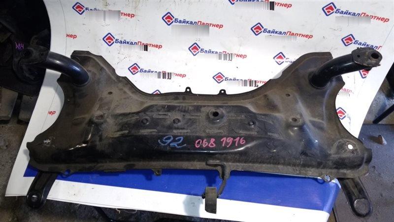 Балка поперечная Toyota Passo KGC10 1KR-FE 2004