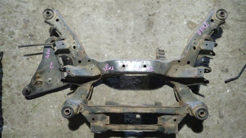 Балка подвески Nissan Presage TNU30 QR25DE задняя