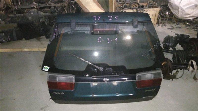 Дверь 5-я Nissan Avenir PW10 SR20DE 1995 задняя