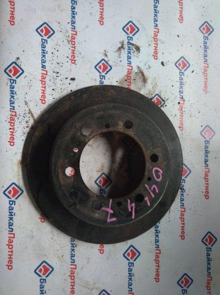 Тормозной диск Toyota Hiace KZH106V 1KZ-TE задний левый 0447