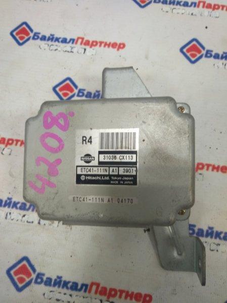 Блок управления автоматом Nissan Serena PC24 SR20DE 31036 CX113