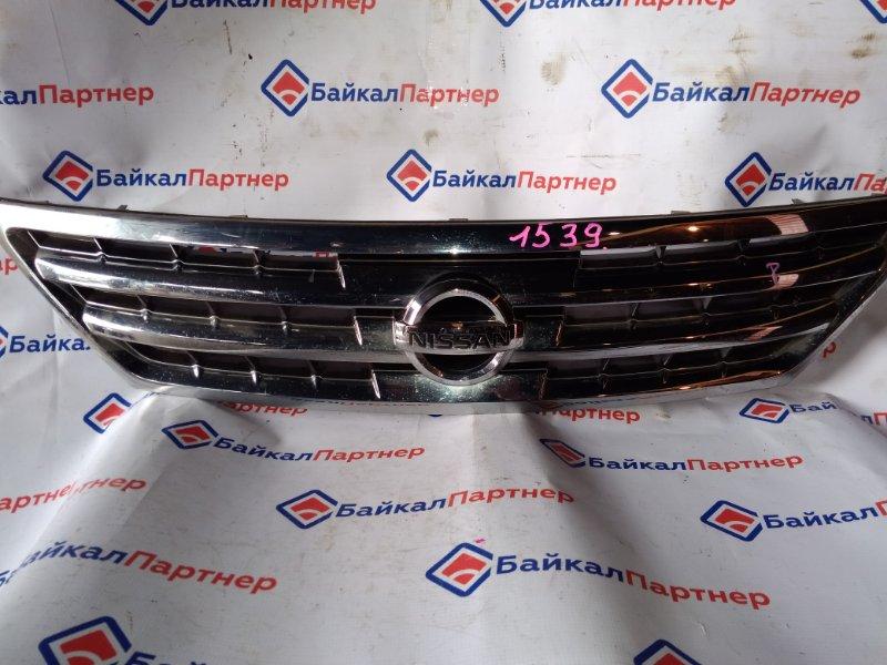 Решетка радиатора Nissan Presage TU31 QR25DE 2004 1539
