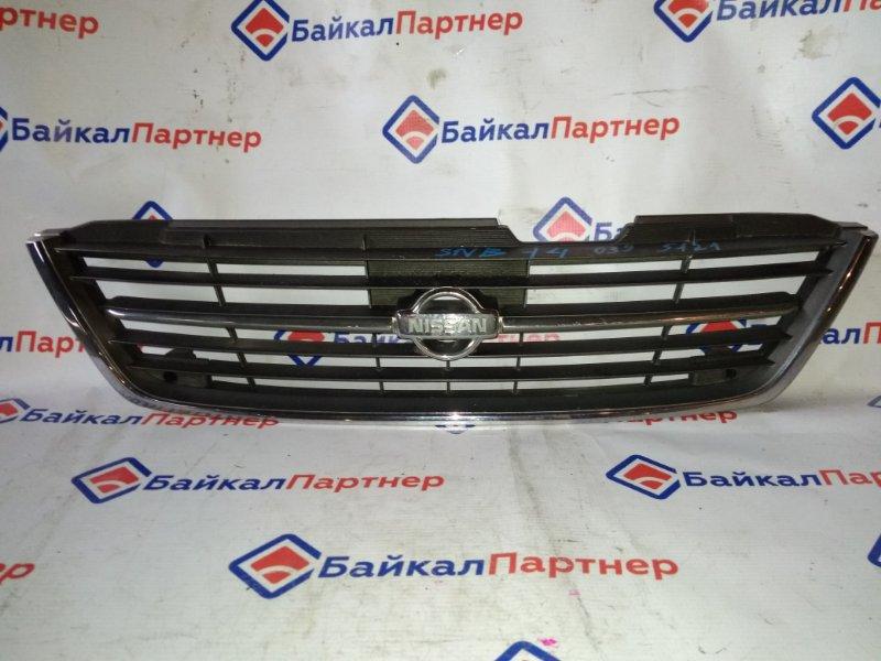 Решетка радиатора Nissan Pulsar FNB14 1995 5121