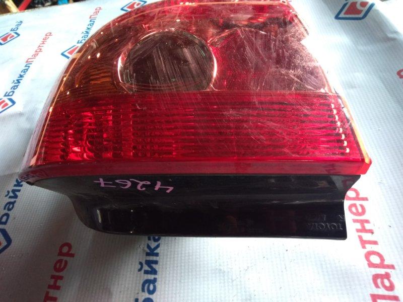 Стоп Toyota Allex NZE121 1NZ-FE 2005 задний правый номер оптики 13-87