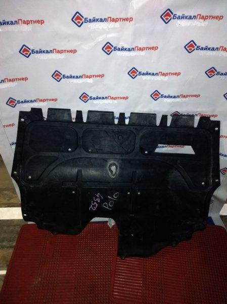 Защита двс пластик Volkswagen Polo 6R1 CBZ 2010 передняя 4352