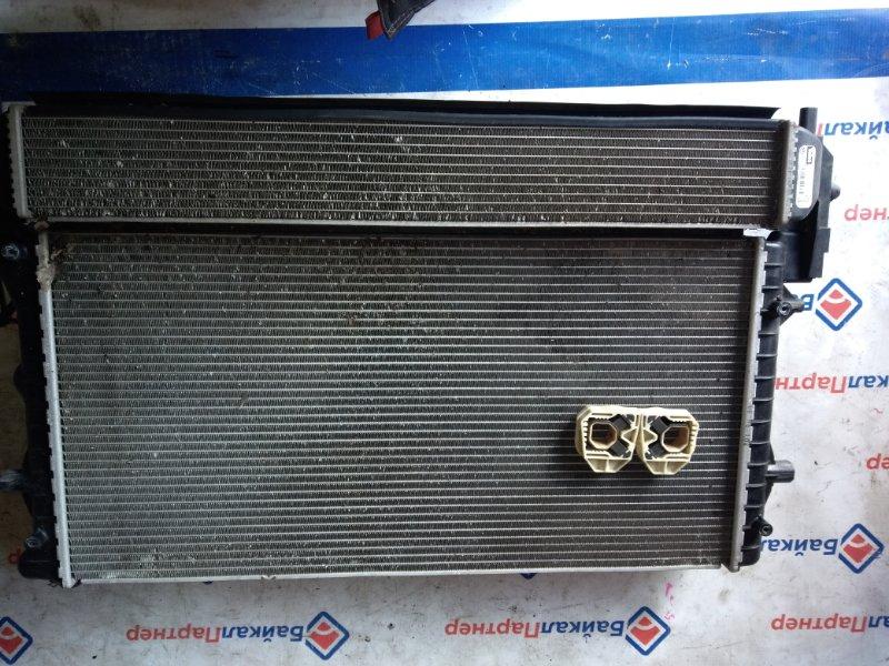 Радиатор двс Volkswagen Polo 6RCBZ CBZB 2010