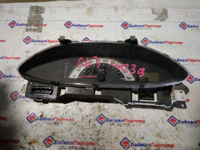 Комбинация приборов Toyota Belta KSP92 1KR-FE 2005 4039