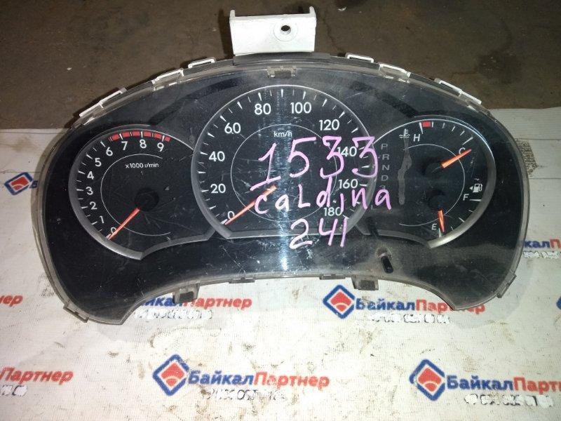 Комбинация приборов Toyota Caldina ZZT241W 1ZZ-FE 1533