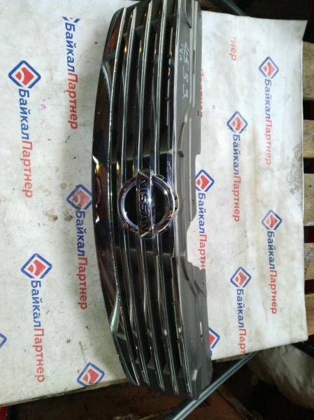 Решетка радиатора Nissan Bluebird Sylphy KG11 MR20DE 4533