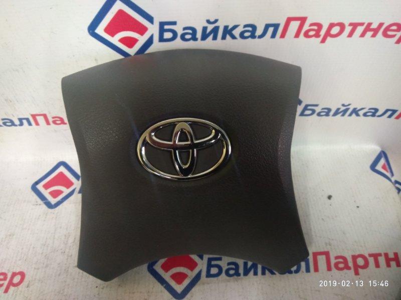 Airbag на руль Toyota Corolla Axio NZE144 1NZ-FE 2007 4876