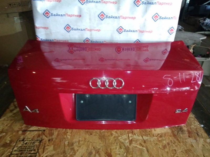 Крышка багажника Audi A4 8EC задняя 4838